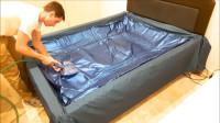 水床里装的是水吗?在酒店多年的工作人员道出其中的秘密!