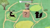 小猫我最喜欢的小猫汽车儿童游戏动画
