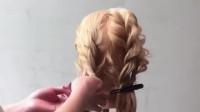 非常甜美简单的扎发发型,一分钟学会