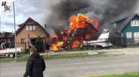 智利南部一小型飞机坠毁6人死亡