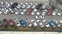 比亚迪最奇葩的停车场,想充电,还得这样停车