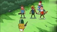 搞笑吃鸡动画:霸哥小分队居然能全员无损的活着离开P城,这是运气好吗