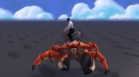 魔兽世界8.2新坐骑:横着走的螃蟹坐骑,跑起来更搞笑!