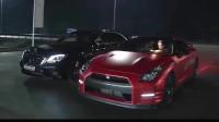 奔驰S63vs日产GTR,就算让你先跑,也弥补不了实力的差距!