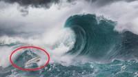 当海啸来临时,为什么船不能回港靠岸,而是要拼命冲向海啸?