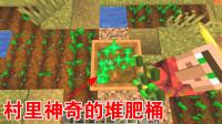 我的世界1.14生存03:星星发现村里的堆肥桶,小麦变骨粉