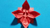 创意折纸:教大家折一个好玩的转转乐,制作方法很简单,小孩子都爱不释手