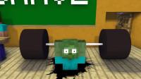 我的世界动画-怪物学院-举重-Kreyn