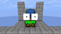 我的世界动画-怪物学院-冰塔挑战-johanzcraft