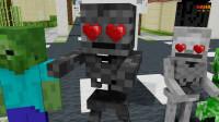 我的世界动画-怪物学院-丧尸买手机-Haha Animations
