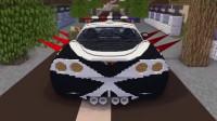 我的世界动画-怪物学院-赛车 vs 丧尸-Kreyn