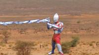 《奥特曼》自拍战斗特效玩具动画!奥特曼vs怪兽酋长