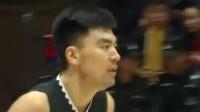 新疆VS辽宁第二节:郭少隆多式助攻二哥飞扣,新疆46-34进中场休息