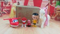 小猪佩奇厨房做饭 超级飞侠汪汪队小伶玩具