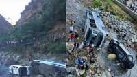 突发!西昌至泸沽湖路上 一旅游大巴坠河致5人轻伤