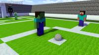 我的世界动画-怪物学院-足球挑战-Monshiiee