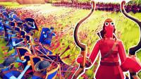 小飞象解说✘全面战争模拟器 弓箭手大作战!国王之间的对决!