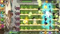 植物大战僵尸2国际版现代世界无尽0108:军械豌豆可以打小丑僵尸?