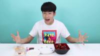 小伶玩具 坤坤带来新吃法,鸡肉起司拌饭,回味无穷? !伶可兄弟