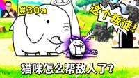 ★猫咪大战争★这只冒烟的猫到底是谁?它难道不是猫咪军团的吗?★30a