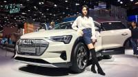 2019上海车展:未来感十足的纯电SUV 静态体验奥迪e-tron