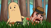 """搞笑吃鸡动画:霸哥匹配的新队友叫""""真帅"""",一顿操作猛如虎,真是人如其名!"""