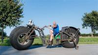 世界上最重的自行车,将近1吨重,骑一圈得吃三碗饭!