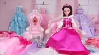 芭比王妃拥有100件连衣裙,太让人羡慕了,送给了好朋友2件