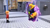 定格动画-乐高城市故事之复联4超级英雄对战灭霸