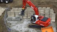 RC遥控挖掘机施工