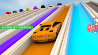 超级跑车集体展示爬陡坡 家中的美国学校