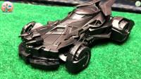 开箱测试遥控蝙蝠侠汽车玩具,儿童玩具,追风亲子游戏