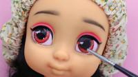 芭比娃娃装扮秀:重铸容颜美妆打扮一个可爱的米老鼠