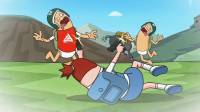 搞笑吃鸡动画:萌妹真正实力爆发,两把UZI无敌了,连敌人都吓得不敢出来