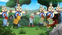 搞笑吃鸡动画:空投可以无,达达必须死!达达一进游戏就遭到玩家们追杀