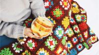 【阿嫲毯】全集 复古钩针拼色花毯 新手零基础钩针编织教程 乖诺诺
