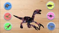 认识有趣的镰刀龙等6种恐龙