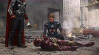 钢铁侠扛着核弹冲入虫洞,差点就没了钢铁侠3,多亏了浩克这一吼