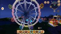 迷你世界:一百只爆爆蛋占领摩天轮!