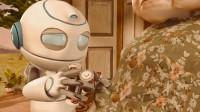 老人把机器人当孙子养,结果机器人有了人的情感,把电池放进老人身体里!