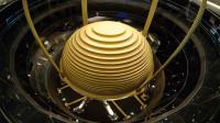 """世界最大风阻尼器,重达上千吨的""""大金球"""",镇楼全靠它!"""