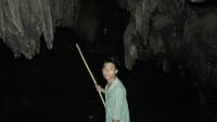 小莫深山装竹鼠,发现神秘山洞,好奇走进去一看,直接尖叫起来