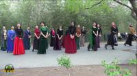 紫竹院广场舞——天韵摇篮曲,很美的舞蹈