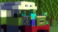 我的世界动画-列车相撞-CraftyFoxe