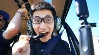 【Vlog】人生第一次坐直升飞机是一种什么体验?