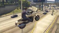 """这种车技还是不要骑车的好,""""起飞""""瞬间很刺激,落地就惨了!"""