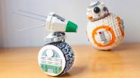 乐高MOC拼装《星球大战9》中的BB-8的好朋友新机器人Dio积木