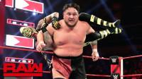 【RAW 04/22】AJ将神秘人雷尔充当肉垫 斯泰尔斯冲击砸爆萨摩亚乔