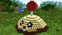 我的世界植物大战僵尸:戴夫踩到地雷怎么办?