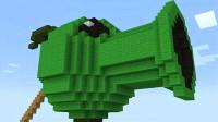 我的世界植物大战僵尸:小豌豆里竟然藏着这么强的武器?